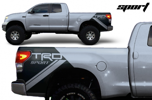 Toyota Tundra 07 13 Vinyl Graphics For Bed Fender Quarter