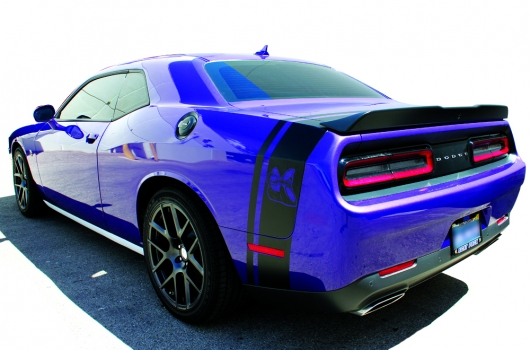 Challenger Scat Pack >> Dodge Challenger 15-16 Scat Pack Vinyl Graphics for Trunk