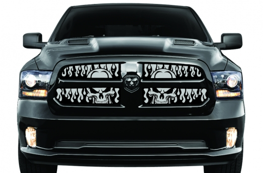 Dodge Ram 2013 2015 Grille Inserts