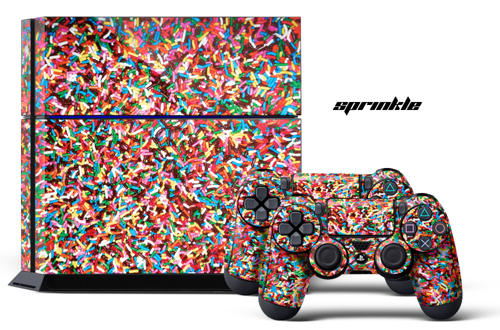 Sony Ps4 Playstation 4 Slim Custom Mod Skin Decal Cover