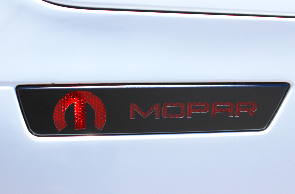 Dodge Charger 08 14 Black Vinyl Side Marker Graphics For