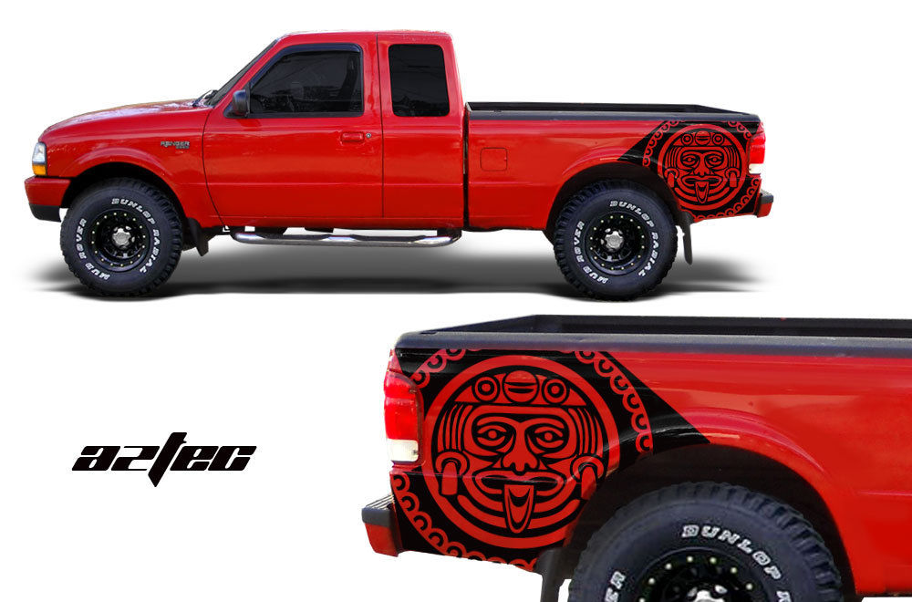 Ford ranger vinyl graphics for bed fender
