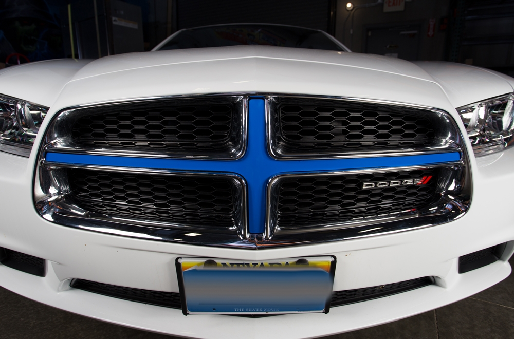 Dodge Charger 11 14 Vinyl Graphics Insert For Grille