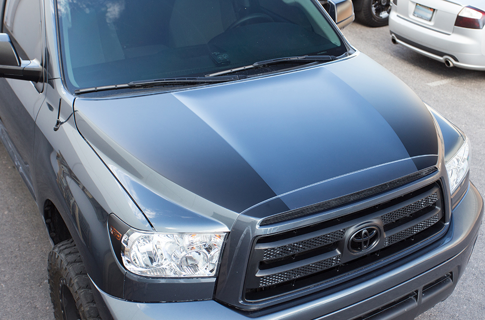 Toyota Tundra 07 13 Vinyl Graphics For Front Of Truck