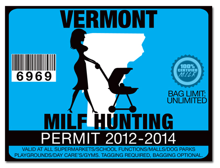 Milf hunting permit license choose from all u s states for Vermont fishing license