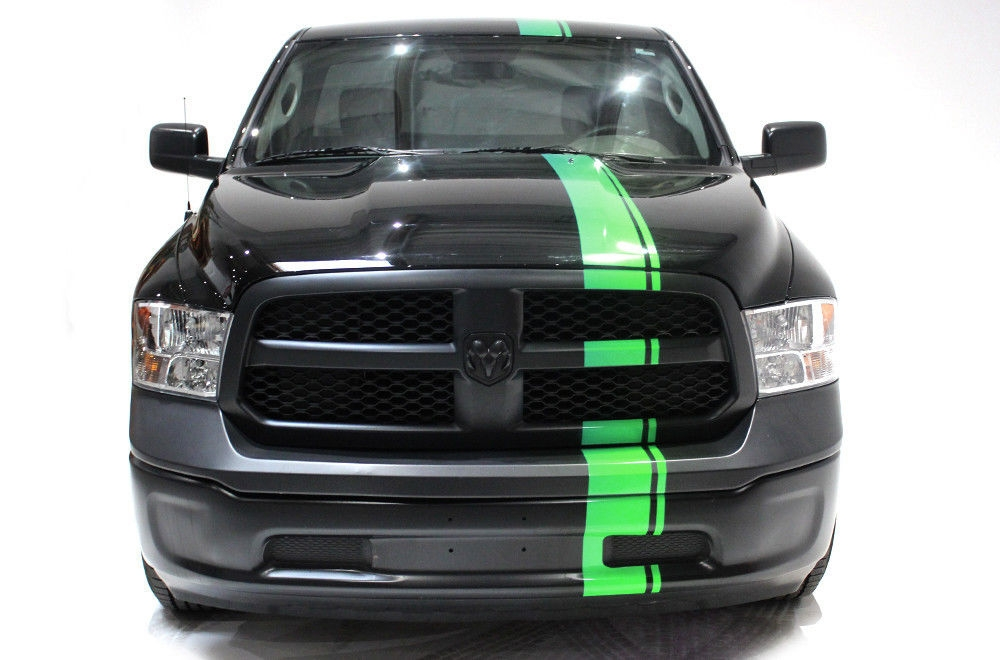 Dodge Ram Runner >> Dodge Ram 09-14 Vinyl Graphics for Bed Fender