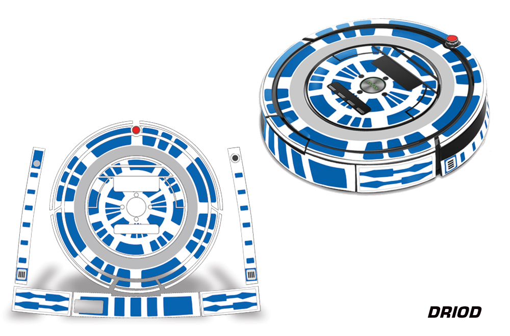 Skin Decal Wrap For Irobot Roomba 860 870 880 Vacuum