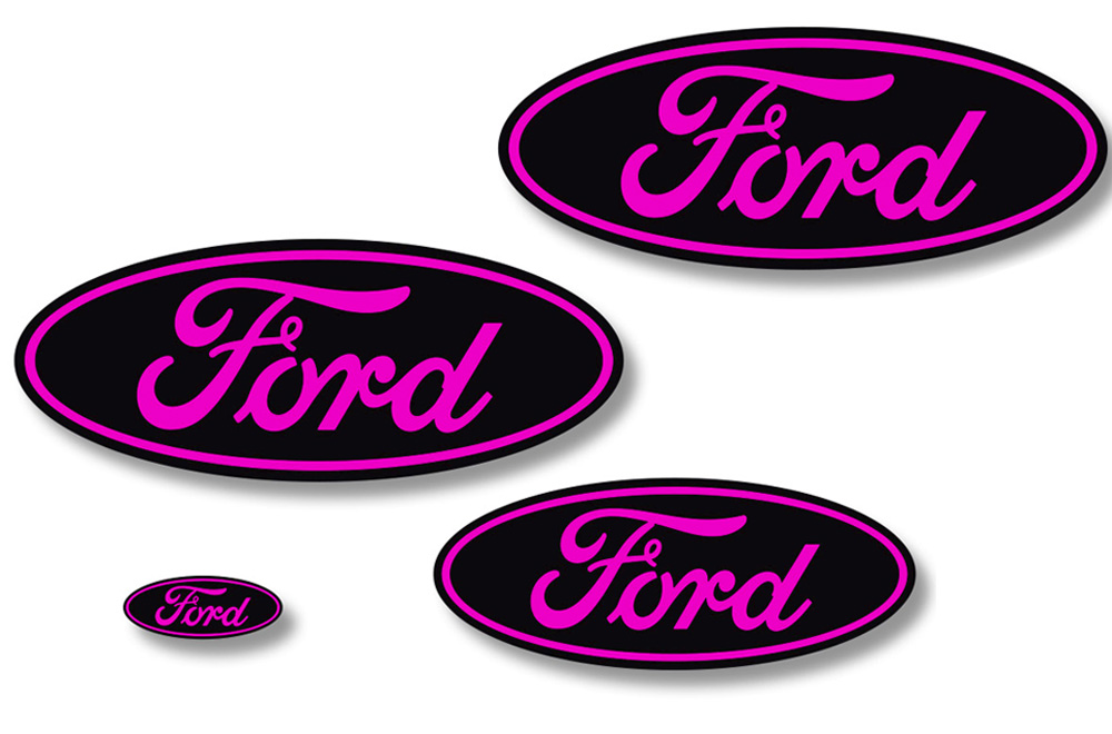Ford F 150 Vinyl Emblem Graphics For Front And Back Of Vehicle
