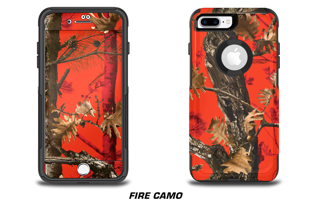 Apple iPhone 7+ Skin Decal Cover for Otter Box Commuter Case