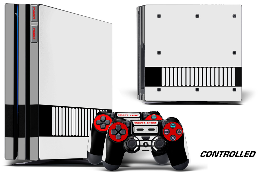 Sony Ps4 Playstation 4 Pro Custom Mod Skin Decal Cover