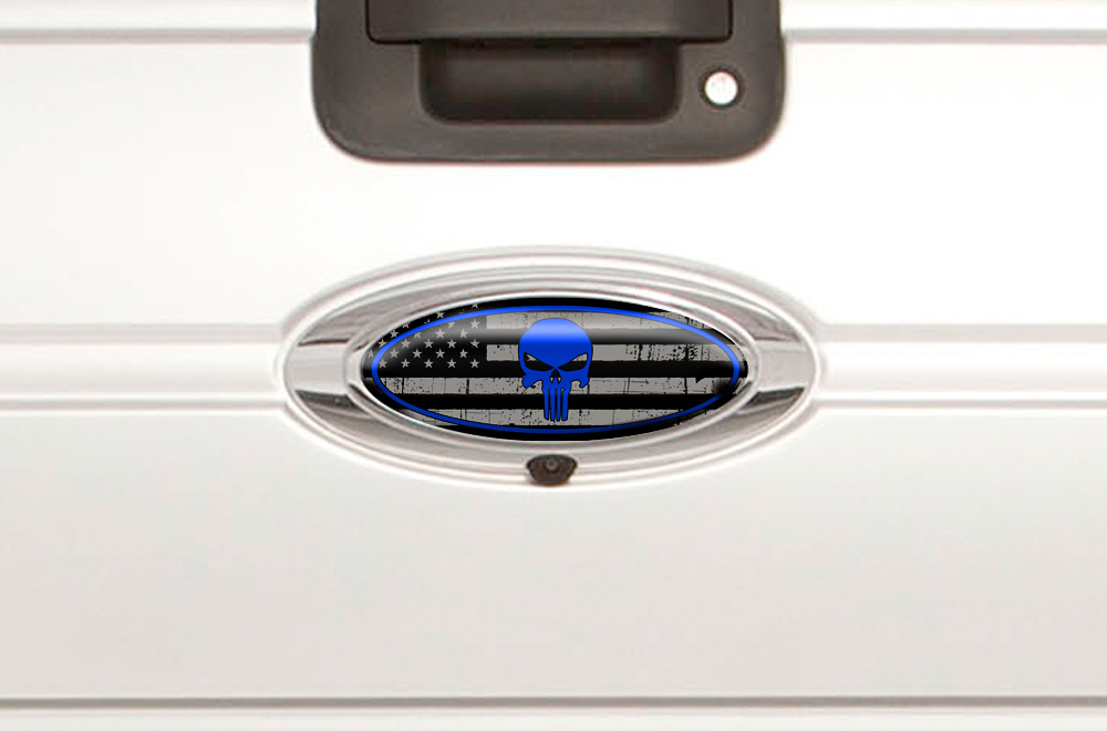 Blue Ford Decals And Emblems Autos Post