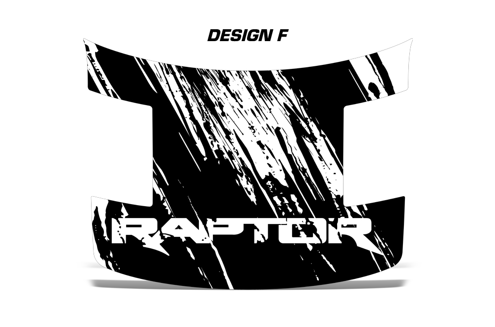 Ford Raptor F SVT Truck Full Hood Wrap Graphic Sticker Decal - Ford raptor decals