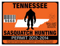 Sasquatch hunting permit license choose from all u s for Tn fishing license online