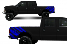 Ford F-250Truck 1999-2006 Quarter Side Custom Vinyl Decal - RIP