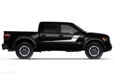 Ford Raptor Truck 2010-2014 Side Rally Stripe Custom Vinyl Decal