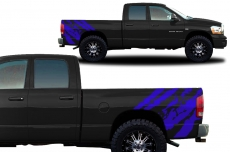 Dodge Ram Truck 2002-2008 Custom Vinyl Decal - RIPPED
