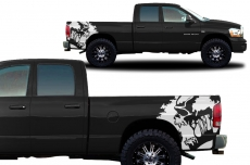 Dodge Ram Truck 2002-2008 Custom Vinyl Decal - SCREAM