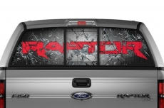 Ford F-150 SVT Raptor Window Vision Graphics Vinyl (2010-2014)