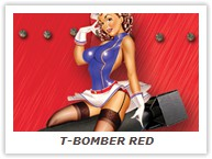 T-BOMBER RED