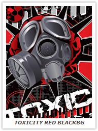 TOXICITY RED BLACKBG