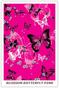 BLOSSOM BUTTERFLY PINK