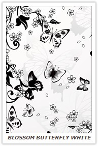 BLOSSOM BUTTERFLY WHITE