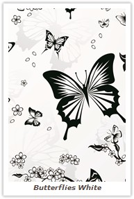 Butterflies White