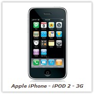 Apple iPhone - iPOD 2 - 3G