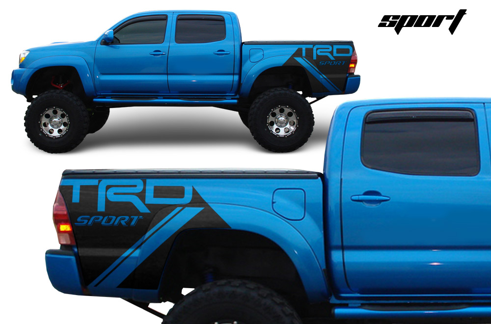 Toyota Tacoma Trd 05 15 Vinyl Graphics For Bed Fender
