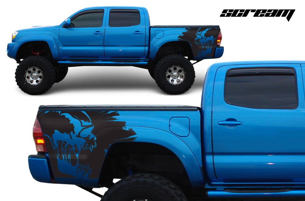 Toyota Tacoma TRD 05-15 Vinyl Graphics for Bed Fender ...