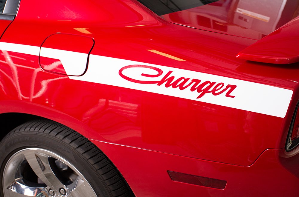 2002 Toyota Tacoma For Sale >> Dodge Charger 08-14 Vinyl Old School Side Stripe Graphics ...