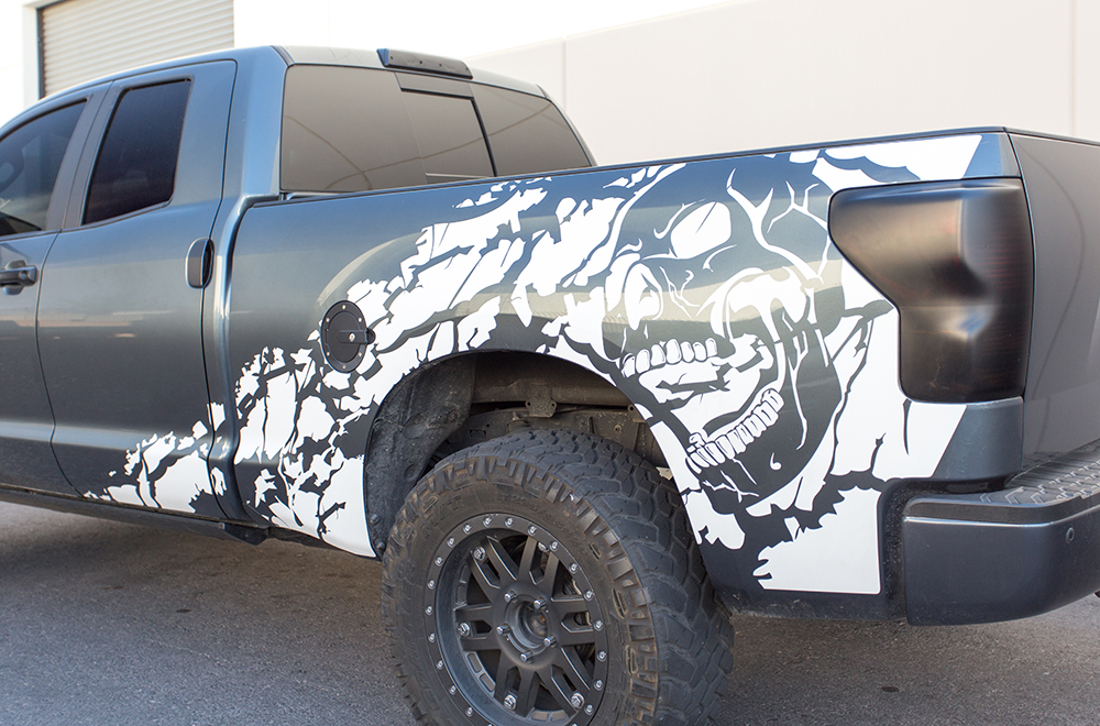 Toyota Tundra 07-13 Vinyl Graphics for Bed Fender