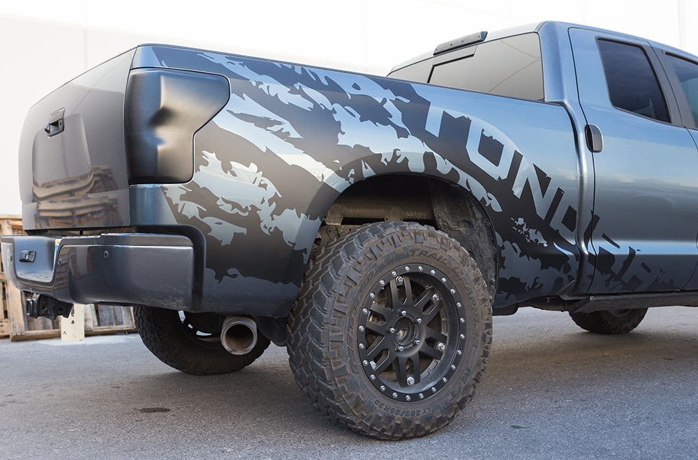Toyota Tundra 07 13 Vinyl Graphics For Bed Fender