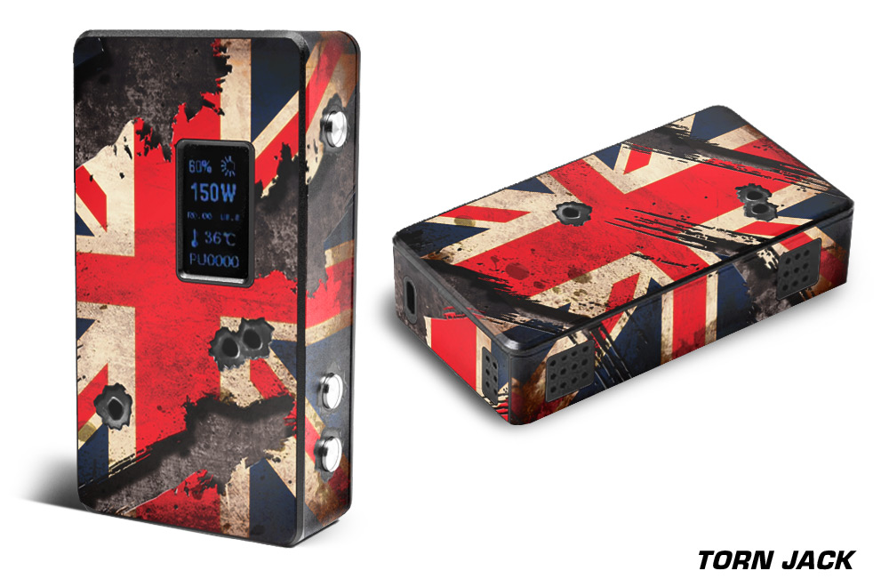 Cloupor T8 150w Regular Vapor Skin Wrap Custom Mod Skin