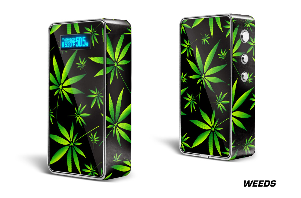 snow wolf 200w regular vapor skin wrap  custom mod skin