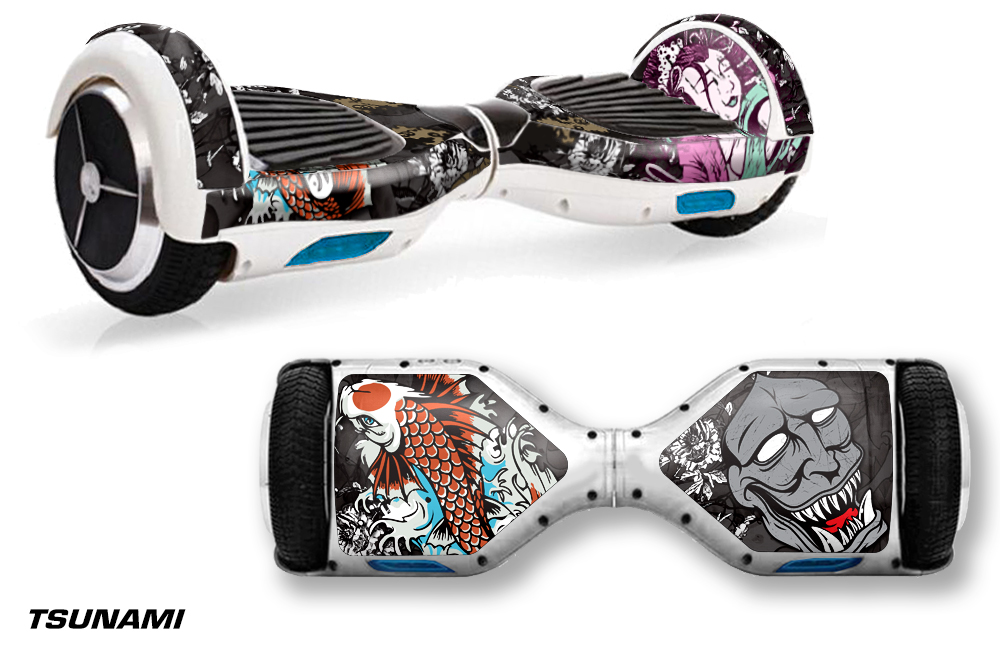 Skin Sticker Decal Kit For Segway Swagway X1 Hoverboard