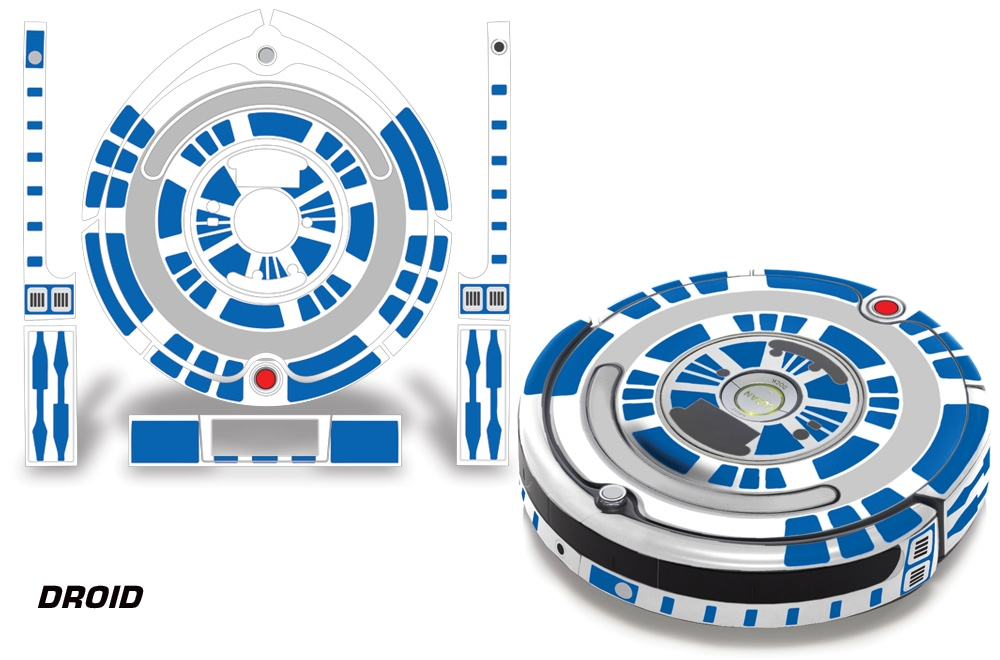 Skin Decal Wrap For Irobot Roomba 650 655 Vacuum Stickers