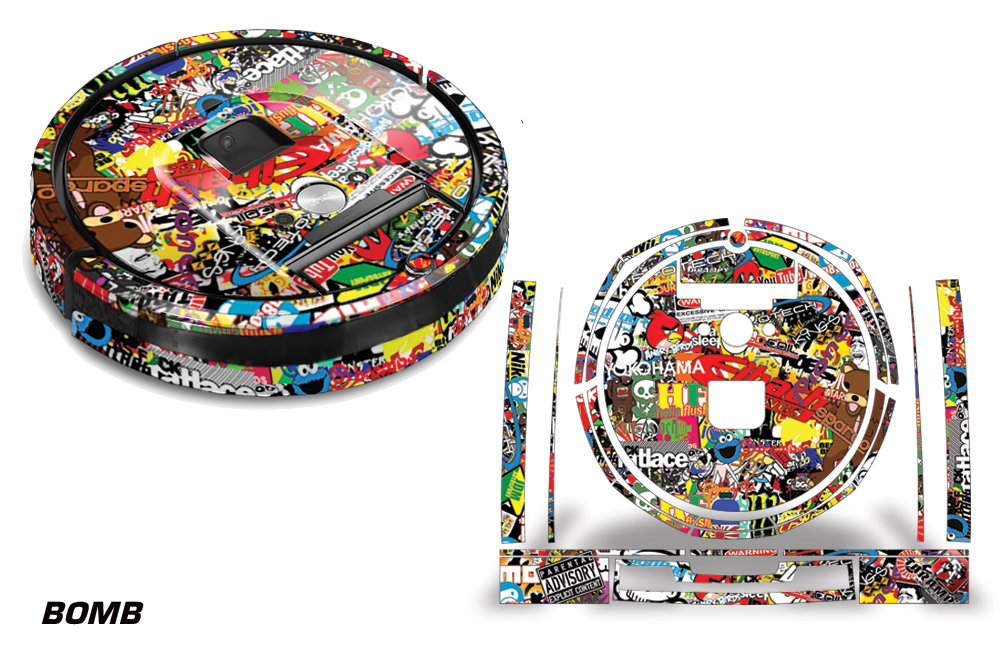 Skin Decal Wrap For Irobot Roomba 980 Vacuum Stickers