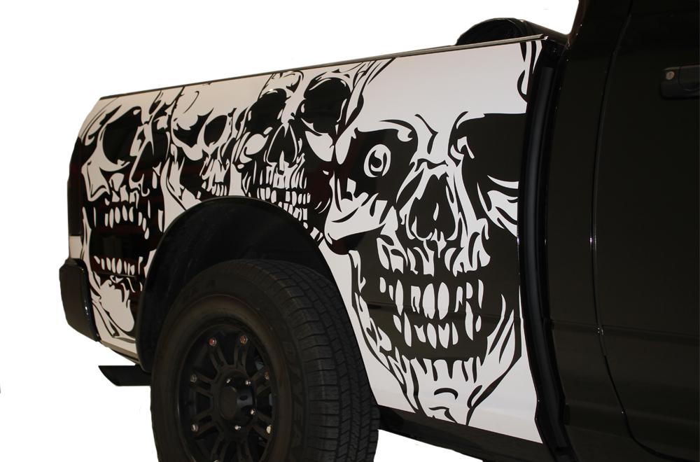 Dodge Ram Midbox Truck 1500 2500 2009 2014 Custom Vinyl