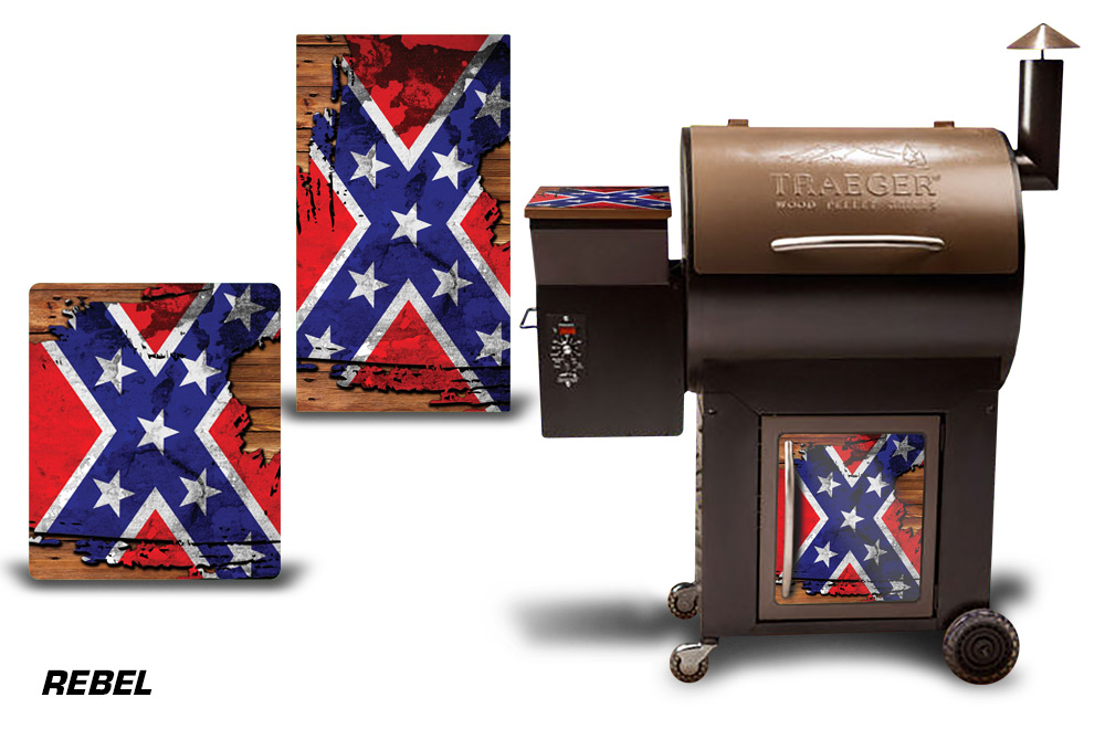 Traeger Smoker Grill Graphic Kit Decal Wrap Skin For Cost