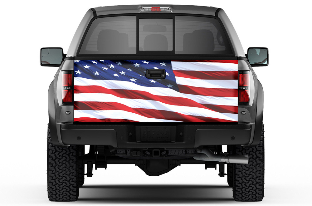 Fj Cruiser 2017 Price >> Universal Tailgate Graphic Wrap Trim Kit for Ford Chevy Toyota Dodge Trucks