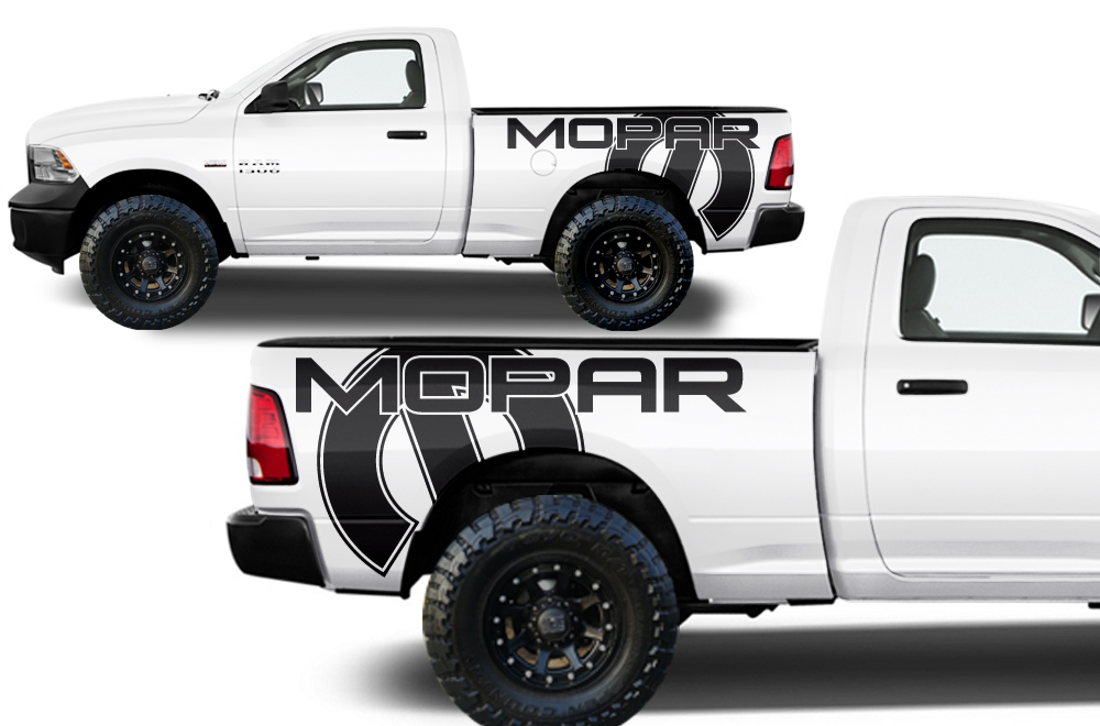2016 Ram 1500 >> Dodge Ram Truck 1500/2500 2009-2014 Custom Vinyl Decal - MOPAR