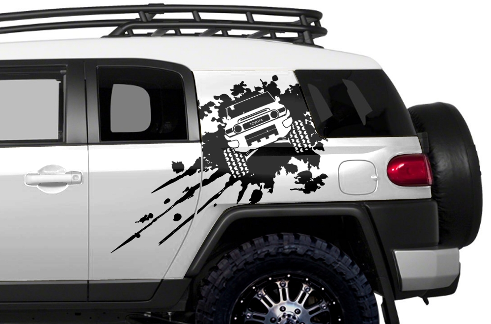 Custom Decal That Covers The Side Of Your Car