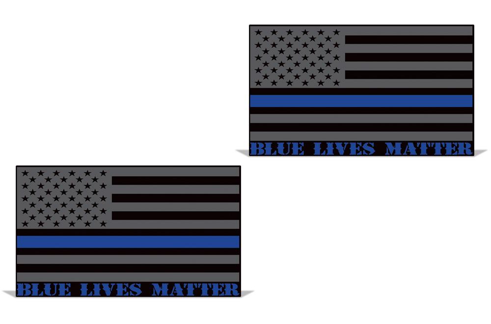 Blue Lives Matter Vinyl Decal Sticker