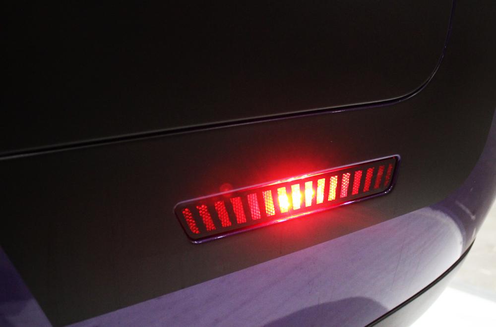 Dodge Challenger Matte Robotic Rear Side Marker Vinyl