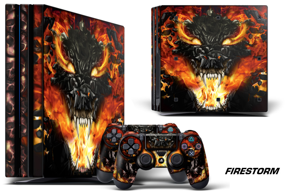 Large Ps Pro Graphics Skin Decal Firestorm