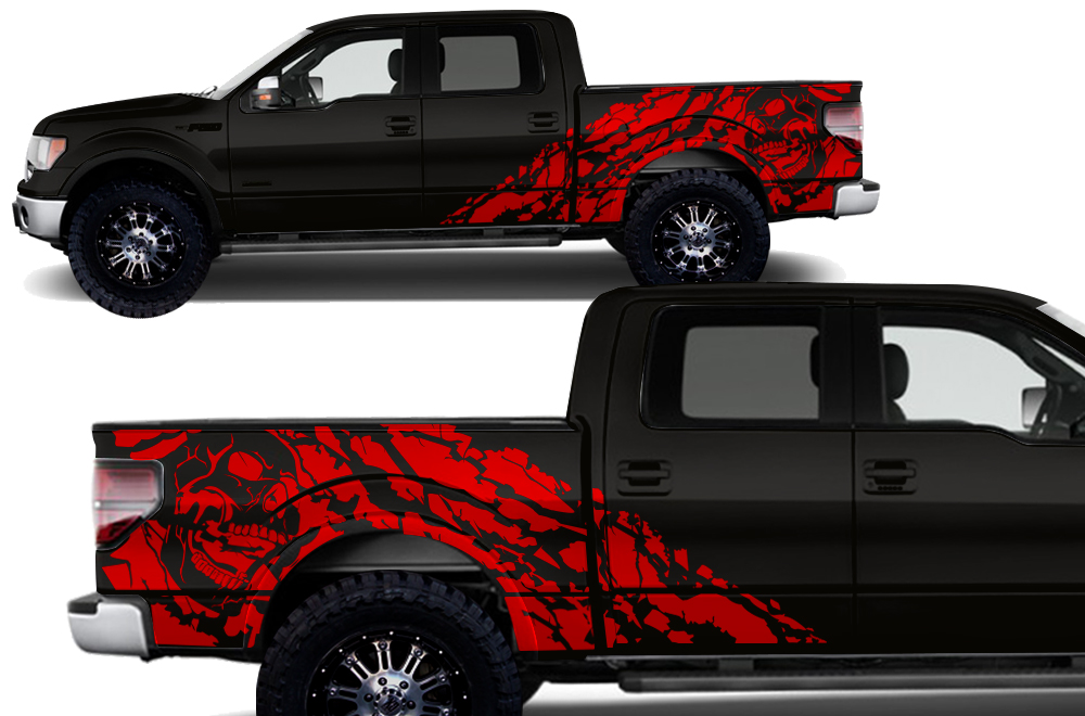 Ford F-150 Vinyl Graphics for Bed Fender