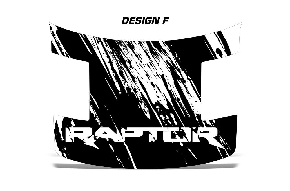 Ford Raptor F150 SVT Truck Full Hood Wrap Graphic Sticker ...