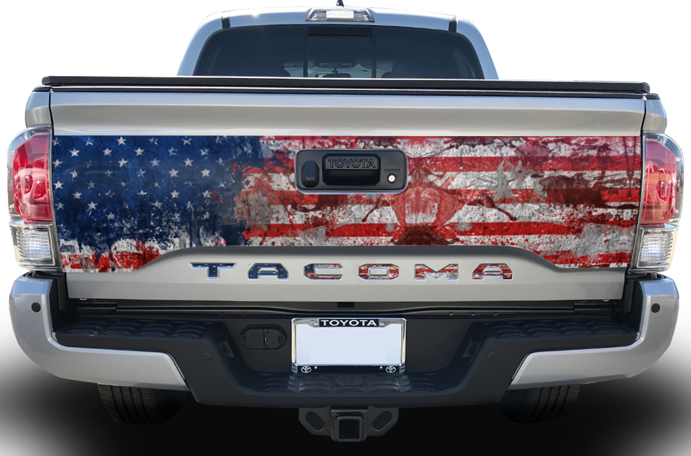 Toyota Tacoma 2016 Vinyl Graphics Insert for Grille.