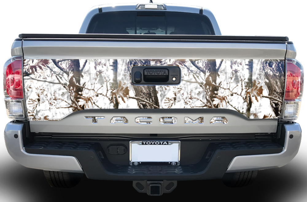Toyota Tacoma 2016 Vinyl Graphics Insert For Grille